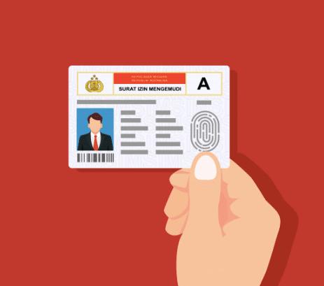 1. บัตรประชาชนและใบขับขี่