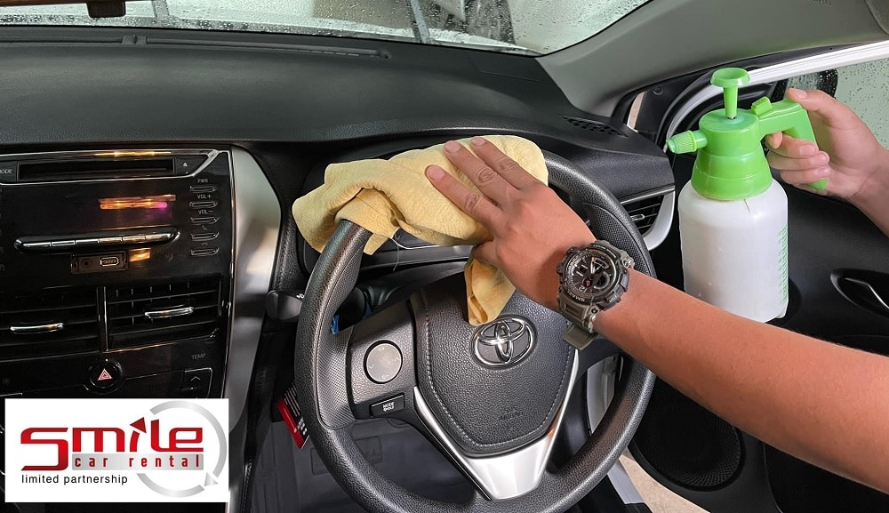Inside Car Cleaning 1